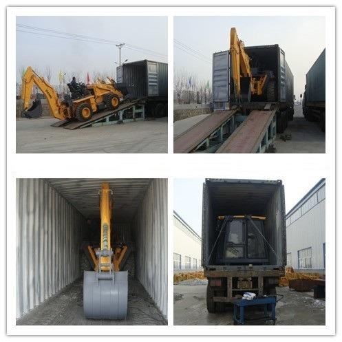 retro excavadora ccmg wz30 2014  seminueva cabina desarmable