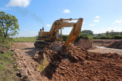 retro excavadora, excavadora,