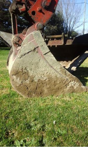 retro excavadora poclain lc80