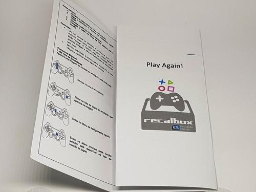 retro game 11mil jogos - 64 gb - 2 contr. sem fio