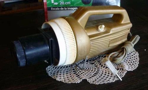 retro linterna mágica para proyectar diapositivas  (2375)