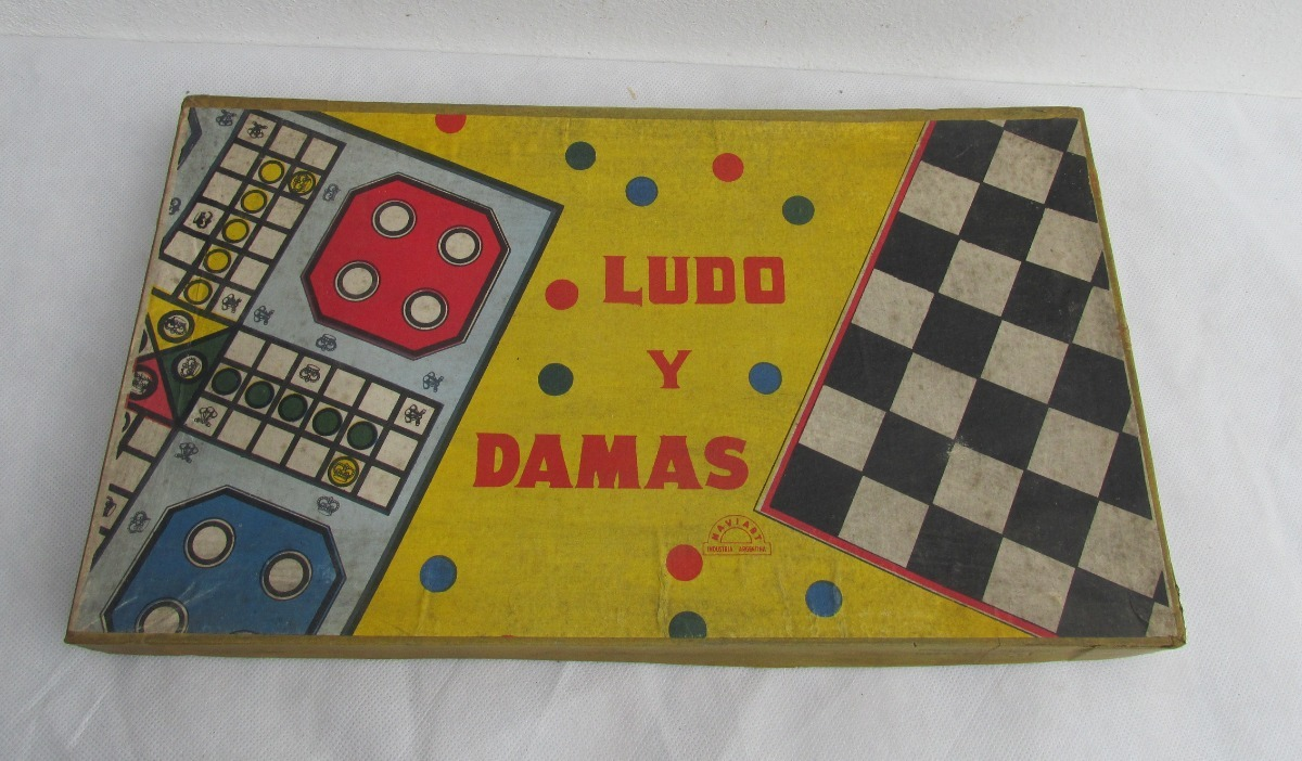 Retro Lote De Juegos De Mesa A Completar Damas Ajedrez L 590