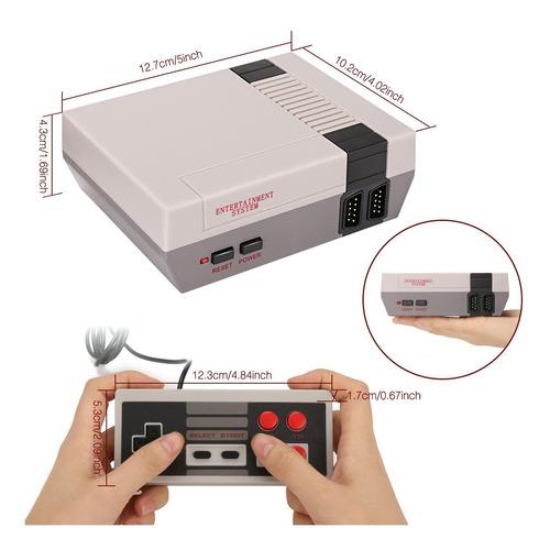 retro mini console 620 juegos 2 controles gc03