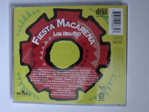 retrodisco/t/ los del rio - fiesta macarena ( cd album )