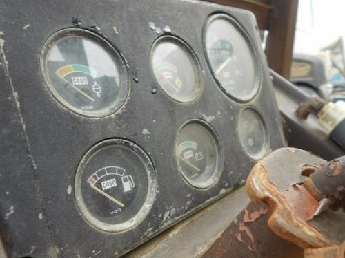retroescavadeira case 580h ano 1992 maquina trabalhando ok