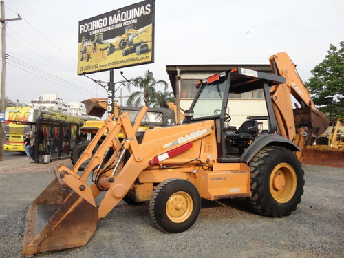 retroescavadeira case 580l 4x2 - 2006