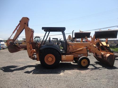 retroescavadeira case 580m 4x2 - 2009
