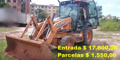 retroescavadeira case 580n / 2014 unico dono