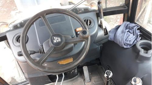 retroescavadeira jcb 3c 4x4 2012 - cabine c/ ar condicionado