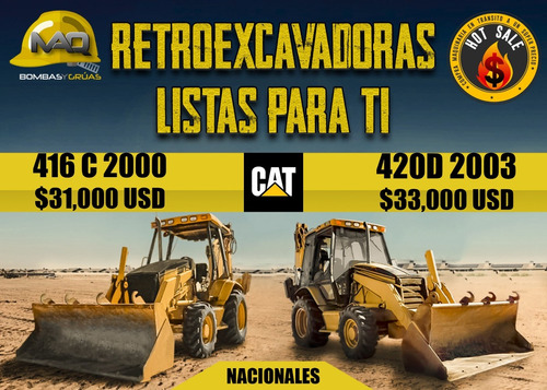 retroexcavadora 2003 cat