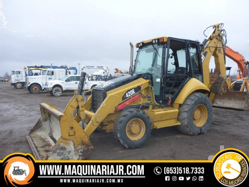 retroexcavadora 2010 caterpillar 420e, retro, venta