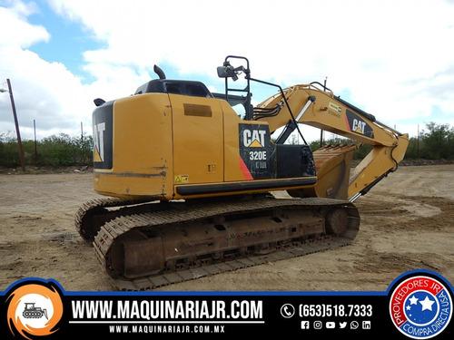 retroexcavadora 2013 caterpillar 320e, retro, venta
