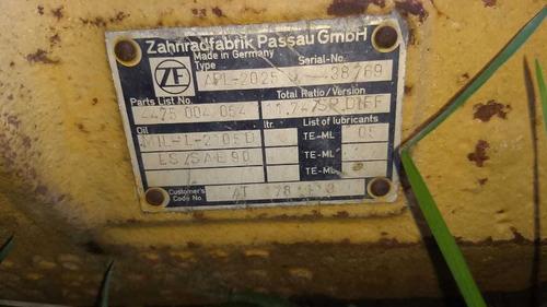 retroexcavadora 210le, 4x4, john deere, año 2000