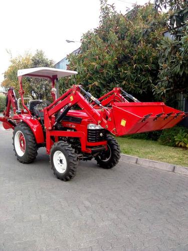 retroexcavadora  35hp diesel 4x4  2tons fes77