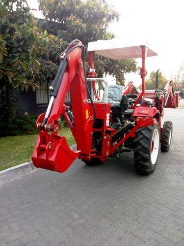retroexcavadora  35hp diesel 4x4  2tons fesal