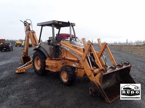 retroexcavadora case 580 m serie 2 2005 4x4 extension y kit