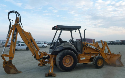 retroexcavadora case 580sm 4x4 extension kit martillo