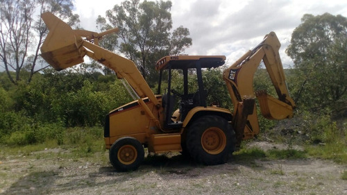 retroexcavadora cat 416 c