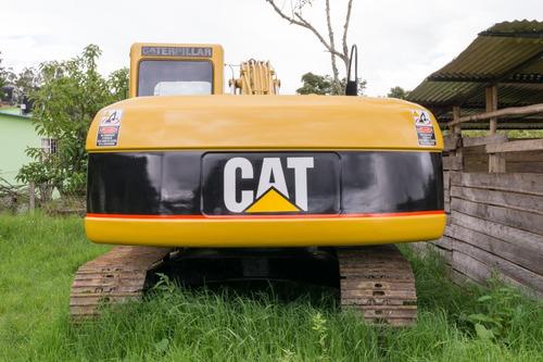 retroexcavadora caterpillar 320c con 10709h excelente estado