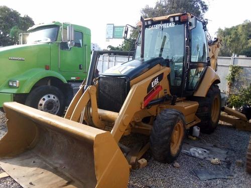 retroexcavadora caterpillar 416e 2008 4x4 brazo standar