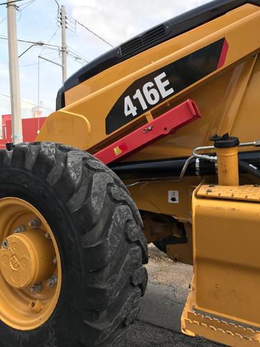 retroexcavadora caterpillar 416e 4x4 modelo 2014  extensión