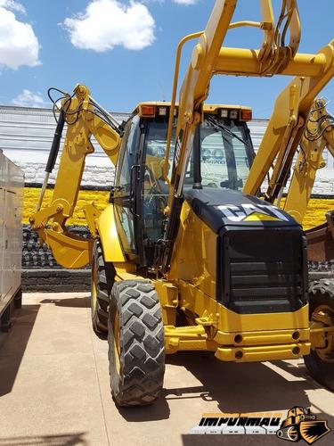 retroexcavadora caterpillar 416e año 2011 extension y 4x4