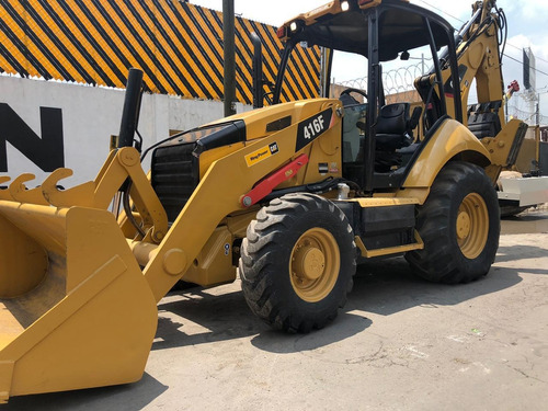 retroexcavadora caterpillar 416f 2014 recien importada 4x4