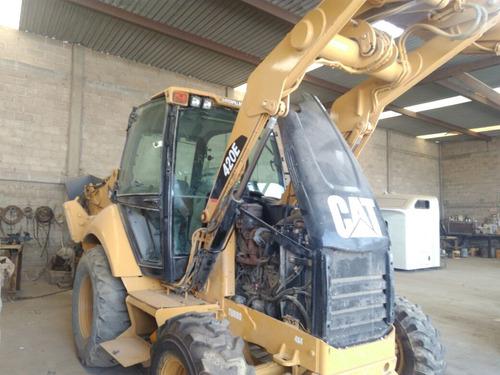 retroexcavadora caterpillar 420e año 2012 4x4
