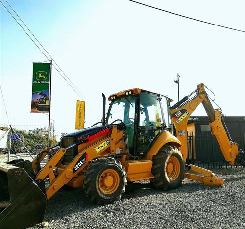 retroexcavadora caterpillar 420e it 2012 cabinada extension
