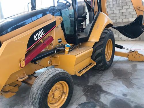 retroexcavadora caterpillar 420e mod. 2009 4x2 como nueva