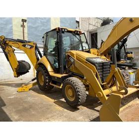 Retroexcavadora Caterpillar 420f 4x4 2015 Recien Importada