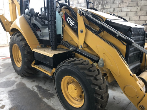 retroexcavadora caterpillar 420f it mod. 2015 4x4 con kit