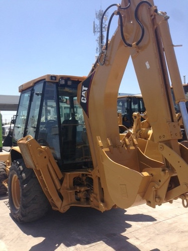 retroexcavadora caterpillar 430d it mod 2005 con extension