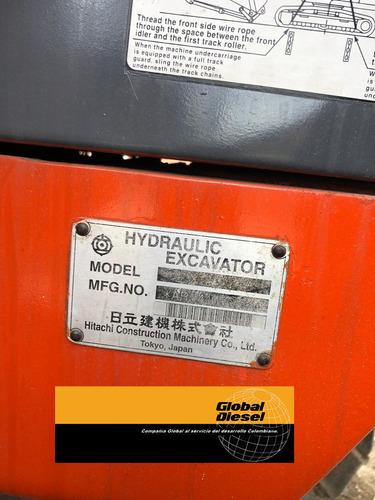 retroexcavadora hitachi zx230lc importada