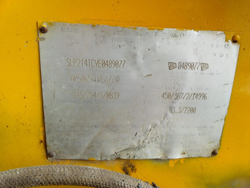 retroexcavadora jcb 214 año 2000