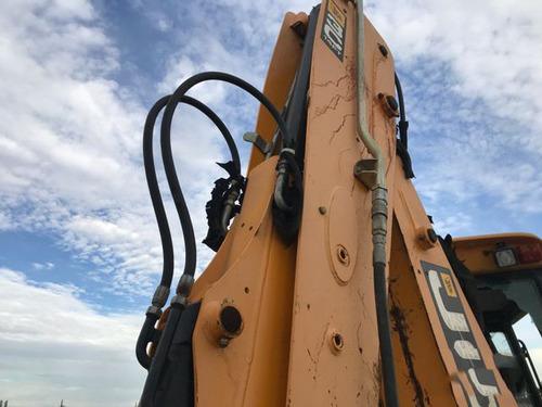 retroexcavadora jcb 3c año 2010 con martillo hidraulico