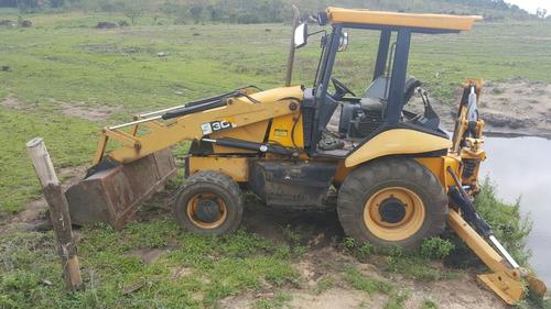 retroexcavadora jcb 4x4 2007