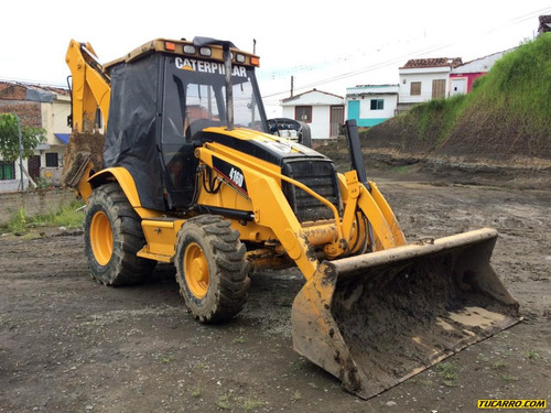 retroexcavadoras caterpillar 416d