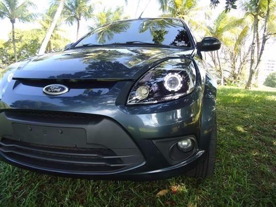 Retrofit Farol Ford Ka Fiesta Focus Projetor Bixenon Angel