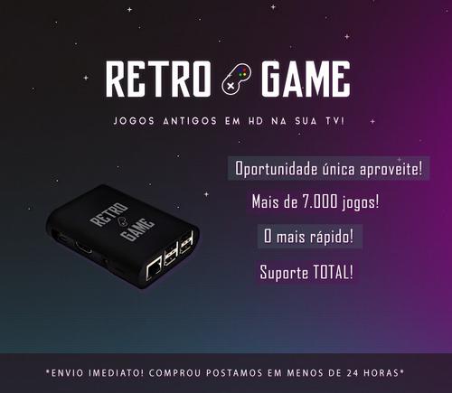 retrogame - vídeo game retro em hd com mais de 7.000 jogos!