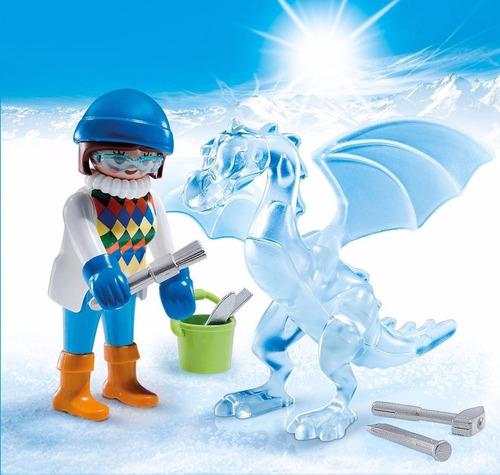 retromex 5374 artista con escultura de hielo ciudad