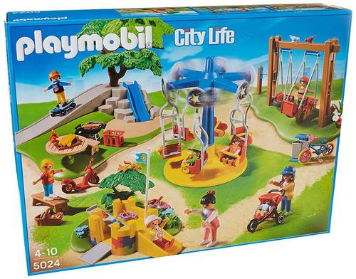 retromex playmobil parque infantil con juegos verano