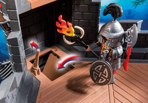 retromex playmobil 5479 castillo d dragon asiatico medieval