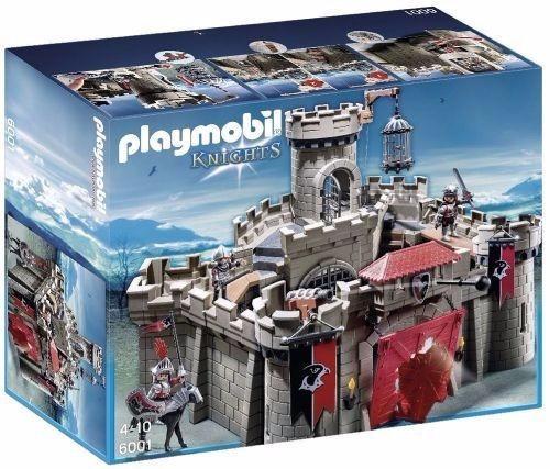 retromex playmobil 6001 castillo caballeros halcon medieval