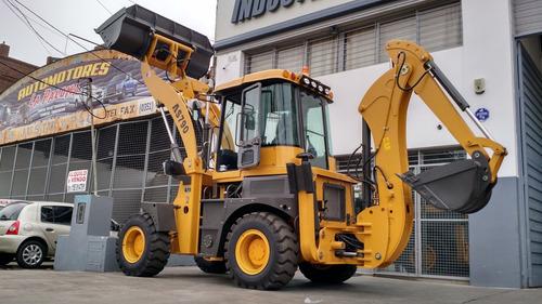 retropala jmv 30-25 articulada 4x4 7900kg de peso 100hp