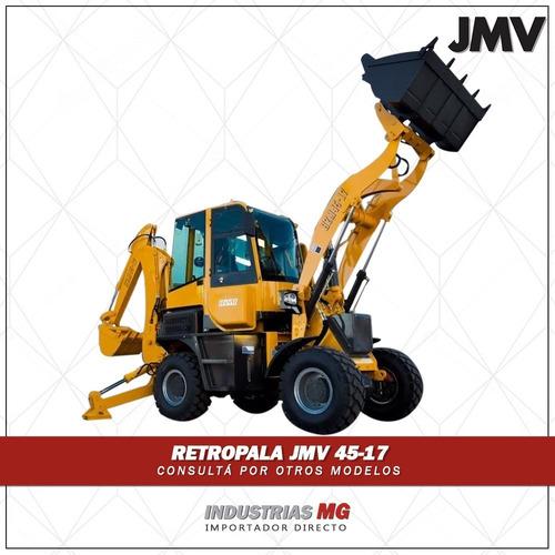 retropala jmv 4517 4x4 3er via joystick nueva acople d balde