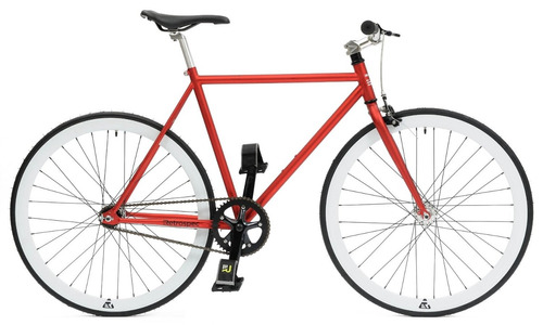 retrospec mantra fixie bicicleta vintage retro roja talla s