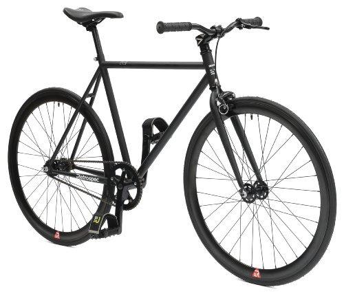 retrospec mini mantra fixie bicicleta con cubos sellados...