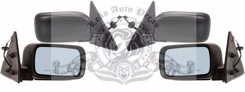 retrovisor bmw serie  3  318 323 325 328 1992 1993 1994 1995 1996 1997 1998 novo eletrico 4 portas  direito