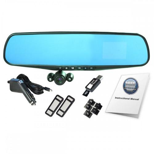 retrovisor cámara filmadora hd para vehículos hd mirror cam